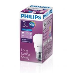 飛利浦 LED 球膽 (3W) (冷日光)