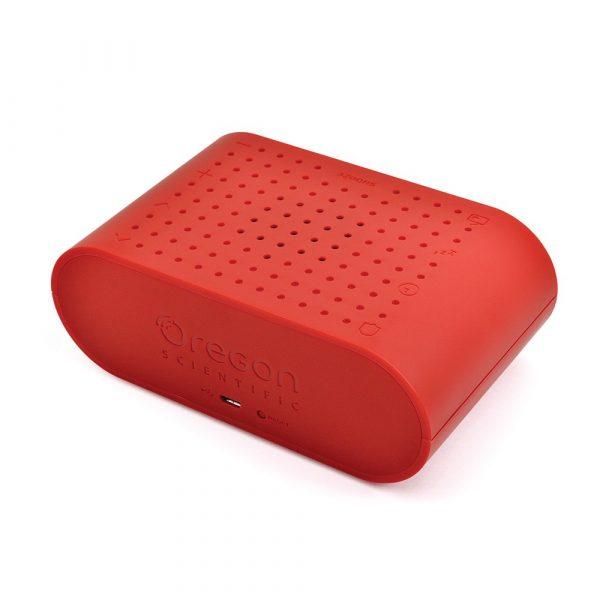 Oregon – 簡約鬧鐘收音機 – 紅色 RRM161_RD