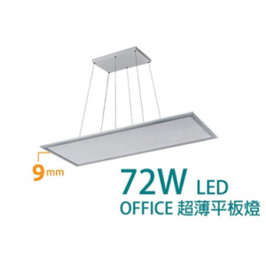 TDS – LED Office超薄平板燈 72W RS1412S / RS1412DS (調光系列)