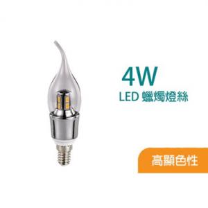 TDS – 4W LED蠟燭燈泡 CS06E1-4W