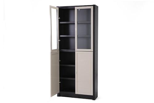 理想空間 – 自由組合雙門書櫃