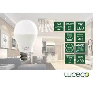 LUCECO – LED 電燈泡7W-冷白光 (型號 : LA27C7W64-LE)