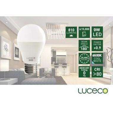 LUCECO – LED 電燈泡9W-冷白光 (型號 : LA27C9W810-LE)