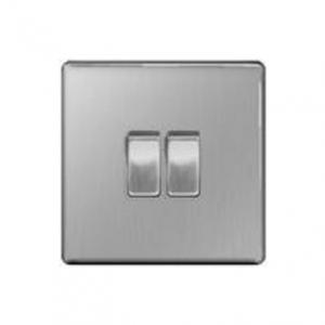 BG – 2位雙向10A開關 -銀色 (型號 : FBS42/FPC42/FBN42)
