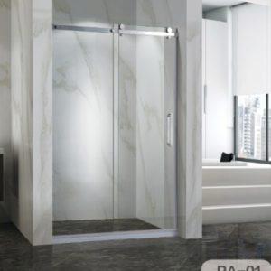 OMEGA – 不銹鋼單趟門浴屏 PA-01