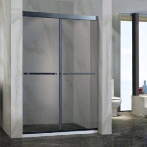OMEGA – 不鏽鋼無框雙趟門浴屏 CL-08 (粗身)