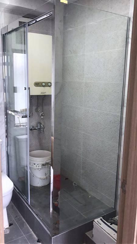 OMEGA – 不鏽鋼雙趟門浴屏 CL-02 (粗身)