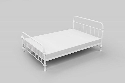 dorm – Lovisa 拿鐵1.2/1.5米黑色鐵架床 LA07/LA07-1