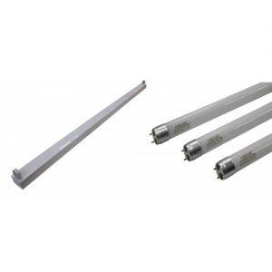 Marble 孖寶 – T8 淨支架連LED光管套餐 (經濟型光管) MF-3120C/MF-3140C/MF-3240C