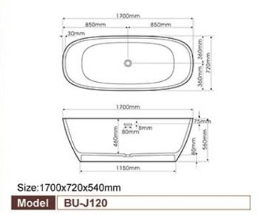 Bellini – 浴缸 BU-J120