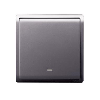 Schneider 施耐德 – 16AX 單位雙控開關掣連熒光指示 E8231L2F_WE/LS/WG/MB