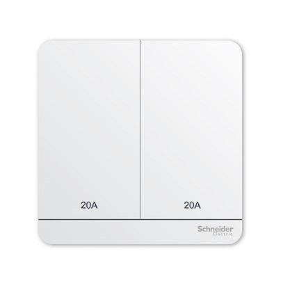 Schneider 施耐德 – 20A兩位雙極掣連LED指示燈 E8332D20N WE / E8332D20N WG / E8332D20N WD