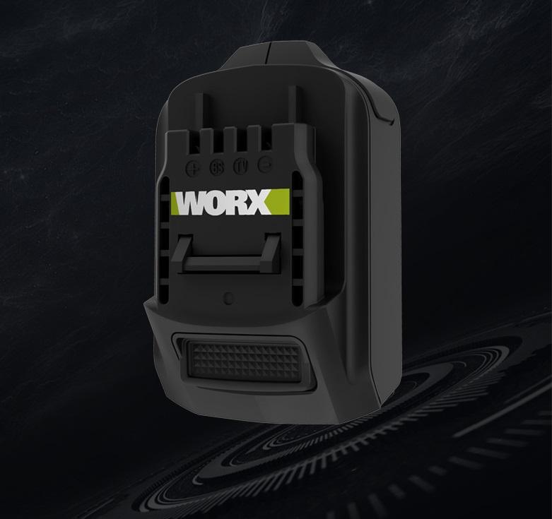 WORX 威克士 - 20V鋰電池轉插器 WA4600