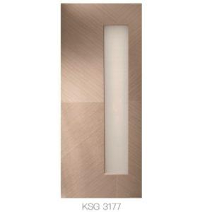 KING'S – 優質玻璃門 KSG 3177
