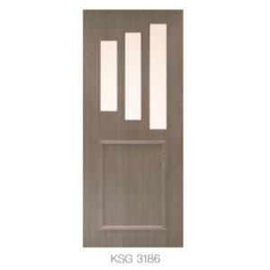 KING'S – 優質玻璃門 KSG 3186