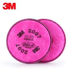 3M – P100 顆粒物過濾棉 2097