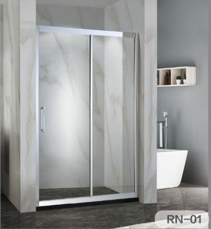 OMEGA – 不銹鋼單趟門浴屏 RN-01