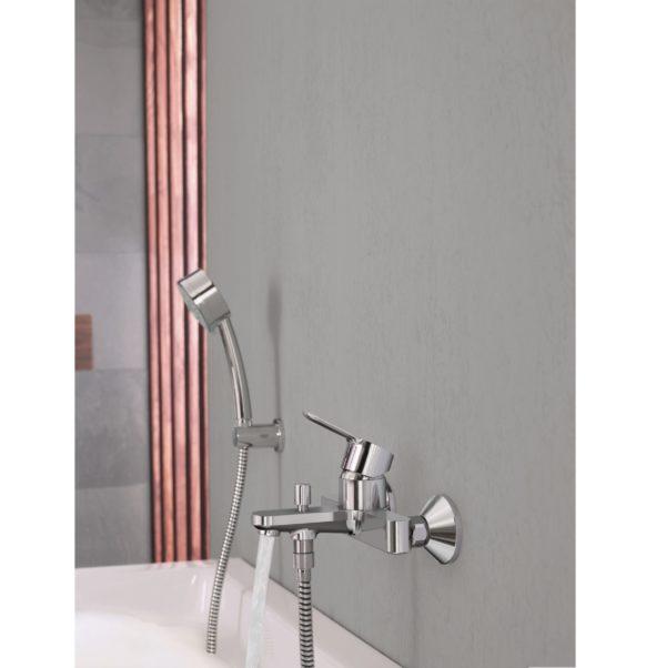 Grohe 高儀 – BAUEDGE系列浴室龍頭花灑套裝 (配浴缸龍頭)