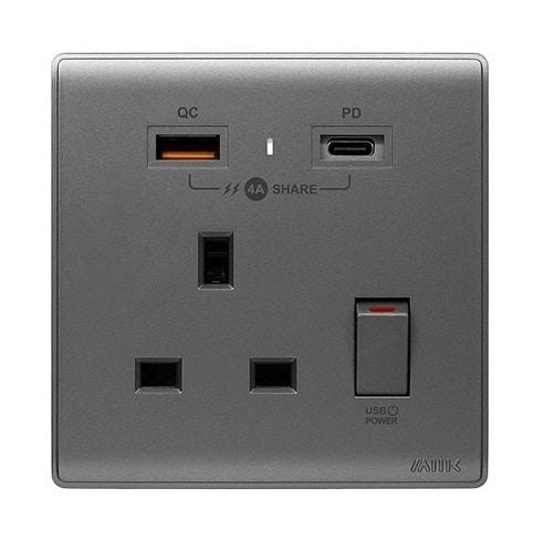 M2K -【PDQC】Type C/USB電制 (單蘇)