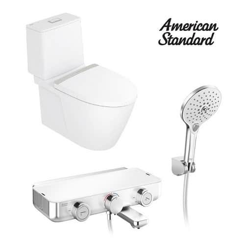 American Standard – 分體式座廁 Acacia Evolution + 浴缸龍頭連淋浴套裝 EasySET