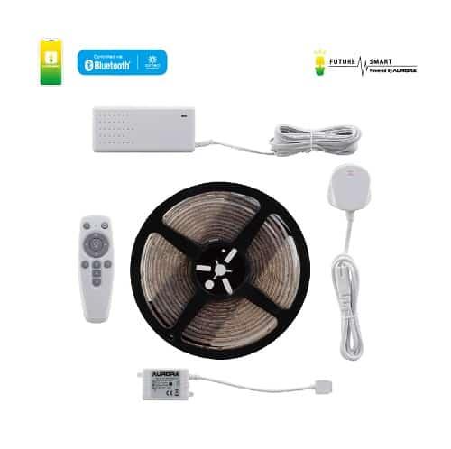 FUTURE SMART – 30W 彩色5米燈帶套裝連遙控連13A英式插頭