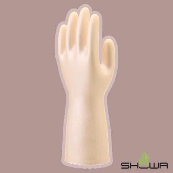 SHOWA – 日本製 Saratto 絨裡絲滑家用手套