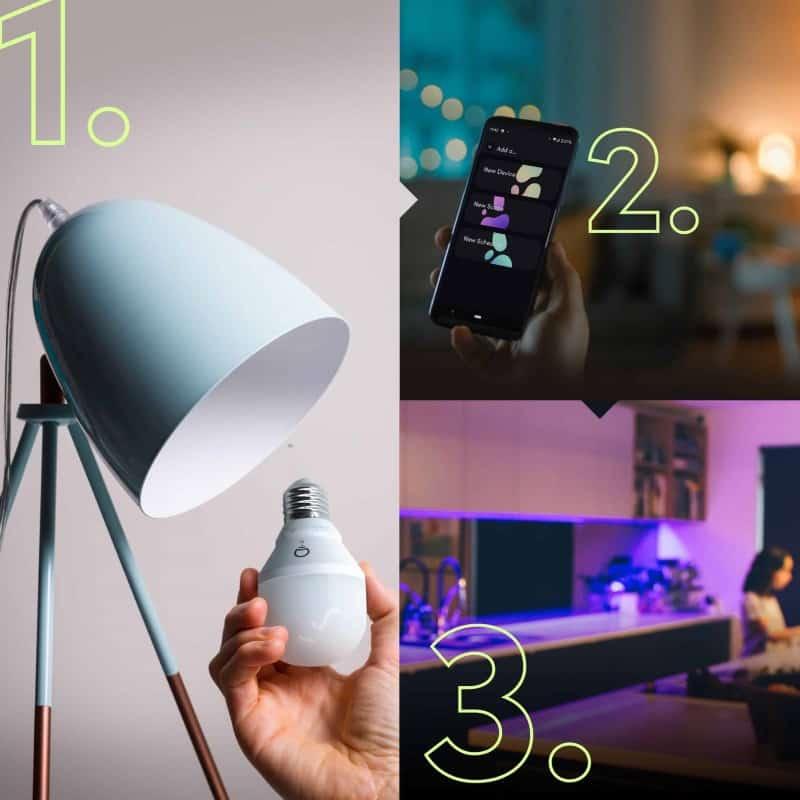 LIFX - 智能彩色燈泡 E27 (L3A19LC08E27AU)