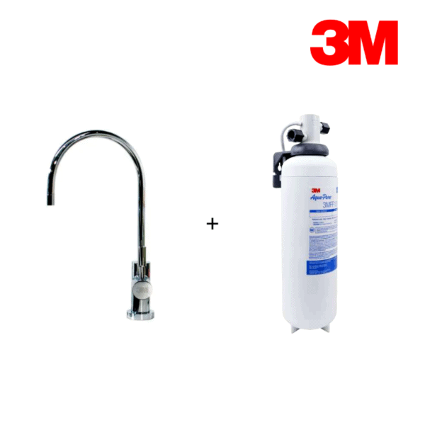 3M – FF100 高流量濾水系統配ID-1 LED淨水龍頭套裝
